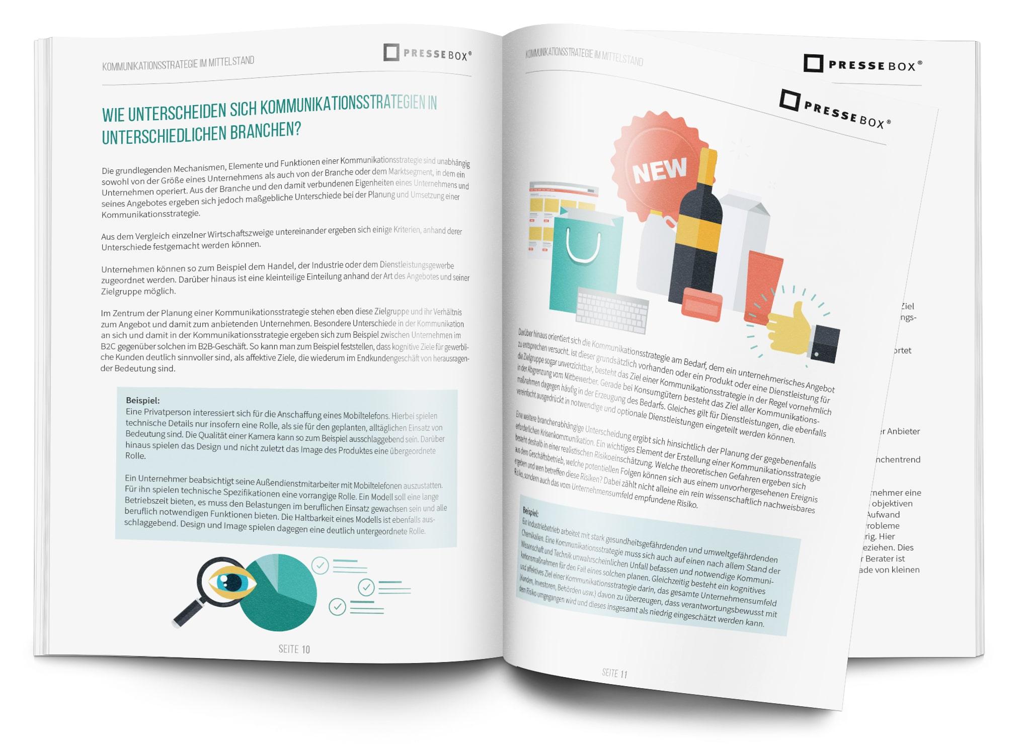 Mockup Kommunikationsstrategie im Mittelstand