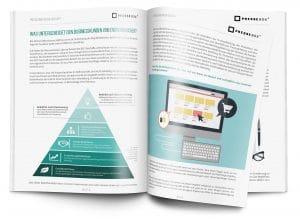 Mockup Pressearbeit im B2B-Geschäft